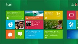 Windows 8 Metro edition