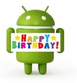 Happy Birthday Android