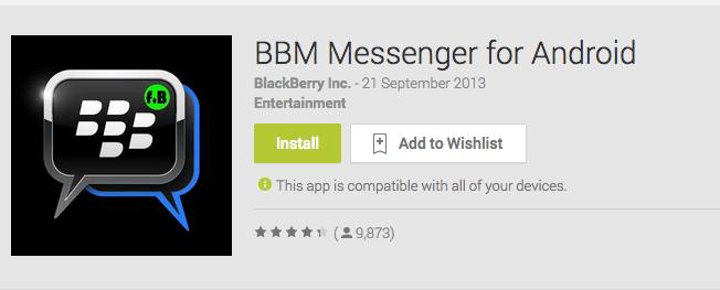 BBM Fake App