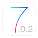 iOS 7.0.2 logo