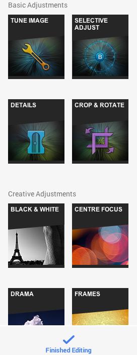 New Google+ Photo Editor based on Snapseed
